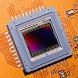 Una matrice sensibile della macchina fotografica digitale della foto Fotografia Stock Libera da Diritti