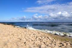 Una mattina al Mar Baltico Fotografia Stock Libera da Diritti