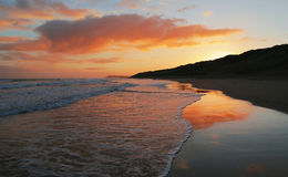 Una mattina costiera Fotografia Stock