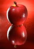 Una mela rossa Fotografie Stock