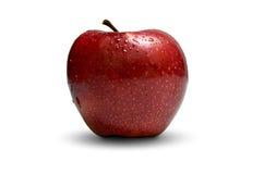 Una mela rossa Immagine Stock