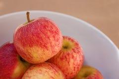 Una mela un il giorno? immagini stock libere da diritti