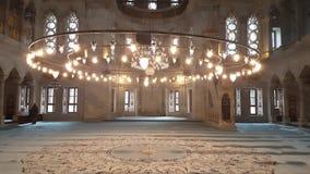 Una mezquita en Estambul almacen de video