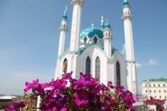 Una mezquita hermosa en Kazán Imagen de archivo libre de regalías