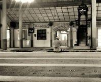 Una mezquita sola Imagenes de archivo