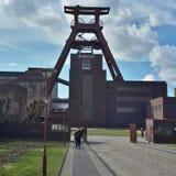 Una miniera di carbone in disuso in Germania Fotografia Stock Libera da Diritti