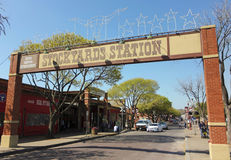 Una mirada en la alameda de la estación de los corrales Imagenes de archivo