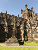 Una mirada en la catedral de Chester, Cheshire, Inglaterra Imagen de archivo