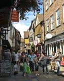 Una mirada en la confusión, York, Inglaterra Foto de archivo