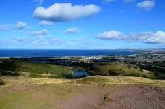 Una mirada magnífica en Edimburgo en Escocia Imágenes de archivo libres de regalías
