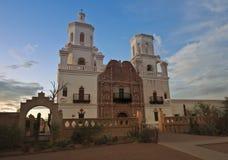 Una misión San Xavier del Bac, Tucson Imagen de archivo libre de regalías