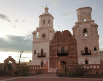 Una missione San Xavier del Bac, Tucson Fotografia Stock