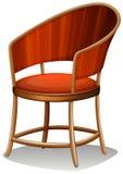 Una mobilia marrone della sedia Immagini Stock Libere da Diritti
