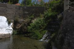 Una molla di acqua in Velez Benaudalla 2 Fotografie Stock