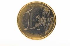 Una moneda euro Foto de archivo