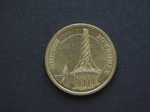 Una moneta di 20 corone danesi (DKK) Fotografia Stock Libera da Diritti