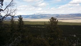 Una montaña en Colorado en la primavera Foto de archivo libre de regalías