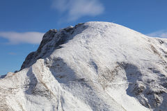 Una montaña más gruesa de Daumen Foto de archivo libre de regalías