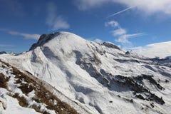 Una montaña más gruesa de Daumen Imagen de archivo