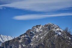 Una montagna Immagini Stock Libere da Diritti