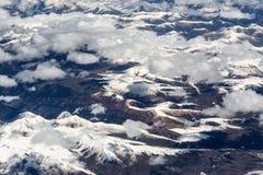 Una montagna dell'Himalaya Immagini Stock Libere da Diritti