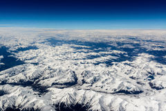 Una montagna dell'Himalaya Fotografia Stock