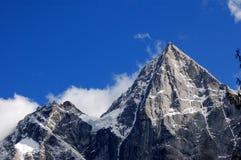 Una montagna delle quattro ragazze Fotografia Stock Libera da Diritti