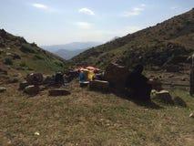 Una montagna piacevole in Kurdistan Fotografia Stock