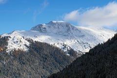 Una montan@a suiza Foto de archivo libre de regalías