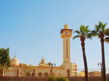 Una moschea moderna Fotografia Stock