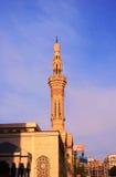 Una moschea nella città Immagini Stock