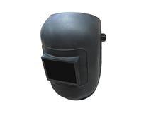 Una máscara negra de la soldadura Imágenes de archivo libres de regalías