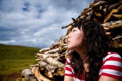 Una muchacha Fotografía de archivo libre de regalías