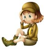 Una muchacha libre illustration