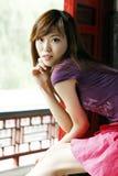 Una muchacha china Fotografía de archivo libre de regalías