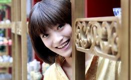 Una muchacha china Imagen de archivo