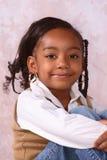 Una muchacha linda Imagenes de archivo