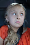 Una muchacha rubia linda Imagen de archivo libre de regalías