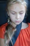 Una muchacha rubia linda Fotos de archivo libres de regalías