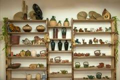 Una muestra de Rongchang Tao del museo de la cerámica del estudio de la cerámica de Chongqing Rongchang imágenes de archivo libres de regalías