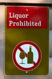 Una muestra prohibida del licor verde fotografía de archivo libre de regalías