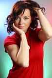una mujer atractiva joven hermosa Imagen de archivo