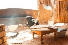 Una mujer de Egipto Foto de archivo libre de regalías