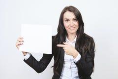 Una mujer de negocios Imagenes de archivo