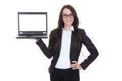 Una mujer de negocios Imágenes de archivo libres de regalías