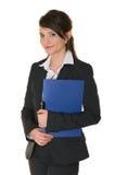 Una mujer de negocios acertada. Fotos de archivo libres de regalías