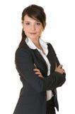 Una mujer de negocios acertada. Imagen de archivo libre de regalías
