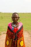 Una mujer del kenyan Foto de archivo