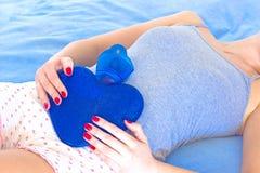 Dolores abdominales Imagenes de archivo