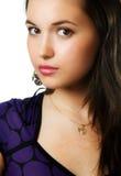Una mujer linda sensual joven hermosa Fotos de archivo libres de regalías